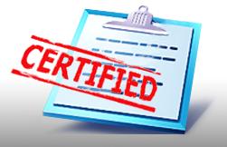 Оказание услуг по сертификации продукции на территории РФ