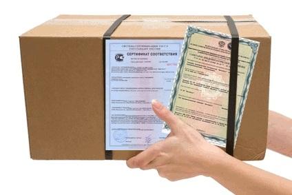 Порядок проведения сертификации товаров и продукции