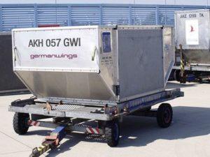 Техническое обеспечение, используемое при авиадоставке грузов