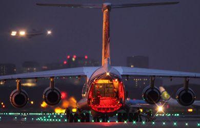 Соотношение регулярных и чартерных видов авиа доставки в общем объёме авиаперевозок