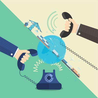 Взаимодействие между заказчиком и исполнителем аутсорсинга ВЭД