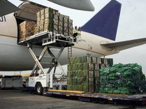 Специальное оборудование, применяемое при грузовых авиаперевозках